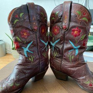 Blue Bird Dan Post Cowgirl Boots